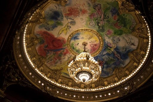 Paris opera chandelier