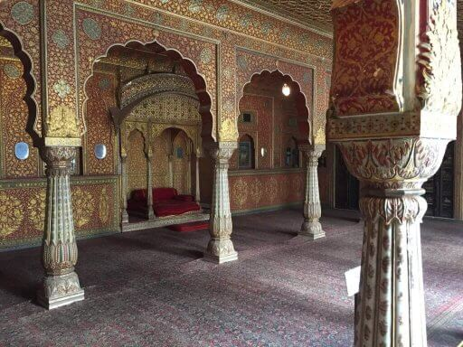 Bikaner fort inside
