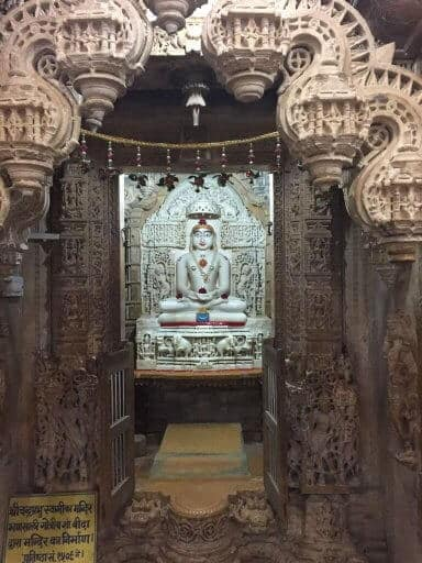 Jaislamer fort inside jain temple