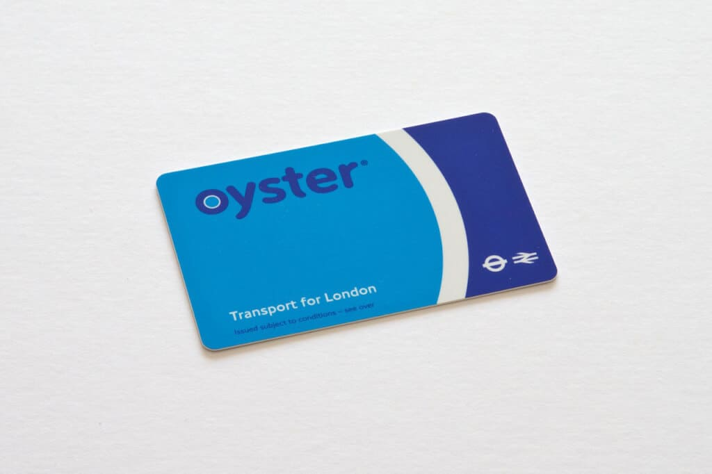 London Tube Oyster-Card