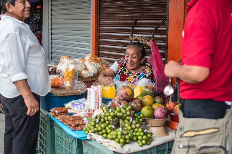 Mexican-Lady-Food-Stall