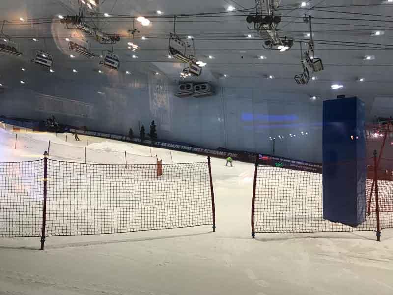 Ski slope in Dubai